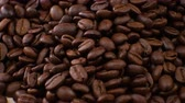 bebida quente : Coffee beans clouse up Beautiful coffee seeds.