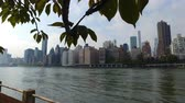 stink : panorama of the waterfront Roosevelt Island to Manhattan
