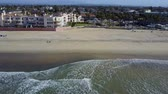 imperial : San Diego - Imperial Beach - Drone Video. Arial Video of Imperial Beach is a residential beach city in San Diego County, California, Stock Footage