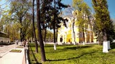 ortodoxo : Panoramic shooting, Vladimir Cathedral in the park, Kiev, Ukraine