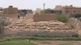 Ad Dareyah Historical Town in Riyadh Stock Footage