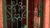 ornamentado : Forged metal products. Visor for doors, gates, stair railings