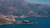 zavala : Luxury hotel complex Dukley in Budva, Montenegro. Shooting with the drone, aerial
