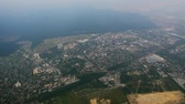 serbia : Belgrade aerial. Belgrade from the aircraft