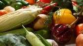 fruit vegetable : Group of fresh vegetables