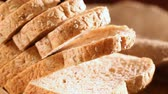 bochník : Homemade cooking made from whole wheat and grains with breads
