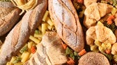 espaguete : Various mix of pasta and bread