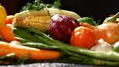 alimentos crus : Group of fresh vegetables