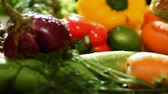 fruit vegetables : Group of fresh vegetables