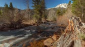 Mountain Flow - Motion control time lapse of melting Sierra snow melt flowing through Yosemite.