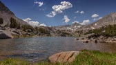 Sierra Summer Lake - Clear Sierra Nevada mountain lake. Stock Footage