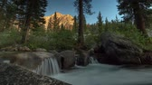 Palisade Creek - Smooth flowing mountain creek in the Sierra Nevada mountains.