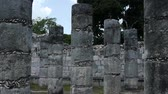 chichen : Mayan Ruin of Chichen Itza Time Lapse Stock Footage