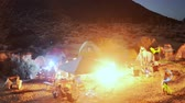 фонарик : Desert Camping Time Lapse Raving Zoom Out