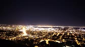 defne : Motion Control Pan Time Lapse of Bay Area Night Cityscape