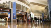 Time lapse footage of Duty Free Store at International Departure Terminal in LAX -Close Up2-