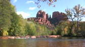 kumtaşı : Cathedral Rock and Oak Creek Sedona Arizona