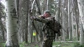 jacht : Bowhunter in actie