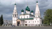outstanding : Yaroslavl, Russia, the church of Elijah the Prophet Ilia Prorok in Yaroslavl timelapse