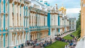 okolní : The Catherine Palace timelapse is a Rococo palace located in the town of Tsarskoye Selo Pushkin Dostupné videozáznamy