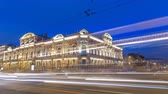 spletitý : Beloselsky-Belozersky Palace from Anichkov Bridge night timelapse hyperlapse, St. Petersburg, Russia Dostupné videozáznamy