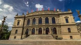 Československo : The Rudolfinum Prague timelapse hyperlapse, a beautiful neo-renaissance building which is home to the Czech Philharmonic Orchestra. Dostupné videozáznamy