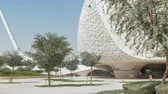 блаженный : View of the Education City Complex timelapse launched by the Qatar Foundation in Doha.