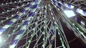 outdoor pursuit : Ferris wheel in amusement park at night