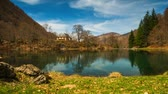 france : Bethmale lake view, France