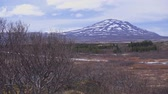 islândia : Beautifull landscape of Thingvellir National Park ,Iceland