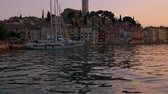 croácia : Beautiful sunset in a Rovinj, Croatia