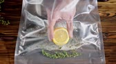 delicadeza : Trout sealed in vacuum bag
