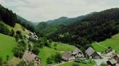 aldeia : View over Spodnja Sorica village, Slovenia