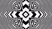 párhuzamos : Hypnotic Rhythmic Movement Black And White Shapes