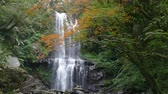 camboja : Autumn Yunshen waterfall in New Taipei City Sanxia District, New Taipei City, Taiwan