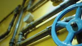 fastening : The photo of metal pipes for water supply