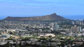 scénický : Honolulu, Hawaii With Diamond Head