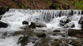 пейзаж : Cascades of pure mountain river
