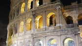flavian : Colosseum at night. Rome, Italy