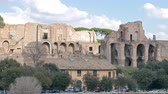 Рим : Ruins on the Palatine Hill. Rome, Italy