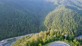 rosa : View from the air. Rosa Khutor, Krasnaya Polyana. Sochi, Russia, From Dron