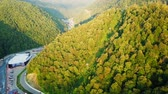 View from the air. Rosa Khutor, Krasnaya Polyana. Sochi, Russia, From Dron
