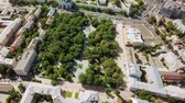 sino : Aerial view of the Astrakhan Kremlin, historical and architectural complex. Russia, Astrakhan, From Dron