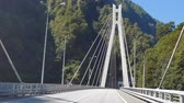 подвесной : Cable-stayed bridge on the road Adler - Alpika-service resort, Sochi, Russia