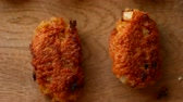 大豆 : Cutlets from soy meat. Vegan concept. Without meat