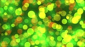 Abstract colorful background with glowing particles