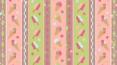 바닐라 : Ice cream moving background pattern 무비클립