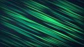 抽象的な : Green glowing lines on the dark gray background 動画素材