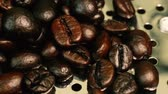 coffee break : The footage coffee roasted camera movement. Stock Footage