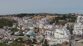 aerial : Aerial from the village Luz in the Algarve Portugal